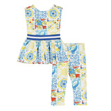 ADEE Portuguese Tile Legging Set