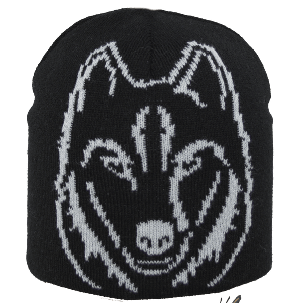 Satila Wolf S51902 Black Beanie Hat - Kizzies, Hats - Childrens Wear