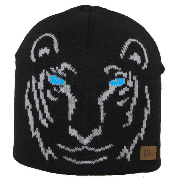 Satila Tiger Grey Beanie Hat - Kizzies, Hats - Childrens Wear