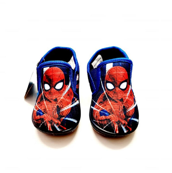 Spiderman Slippers Blue