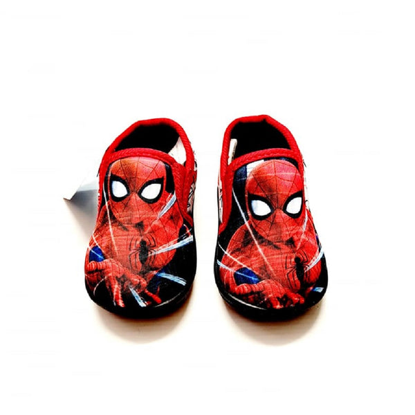 Spiderman Slippers Red