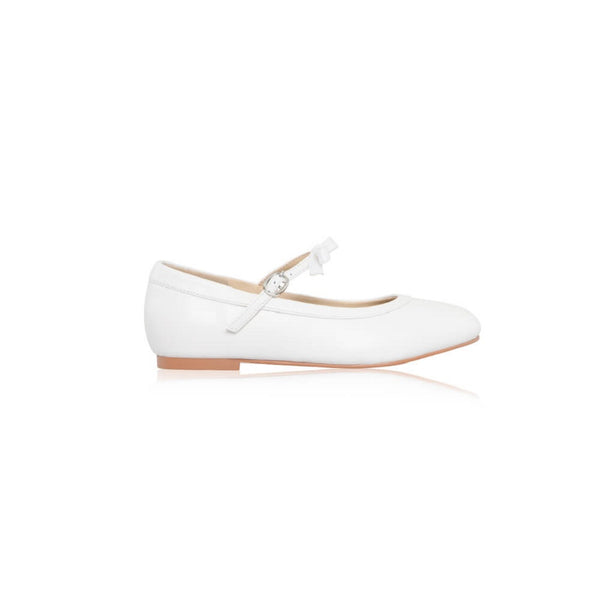 Sophie Leather Communion & Flower Girl Shoes - Kizzies, Shoes - Childrens Wear