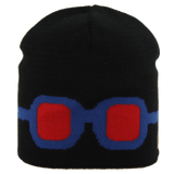 Satila Goggles Black Beanie Hat - Kizzies, Hats - Childrens Wear