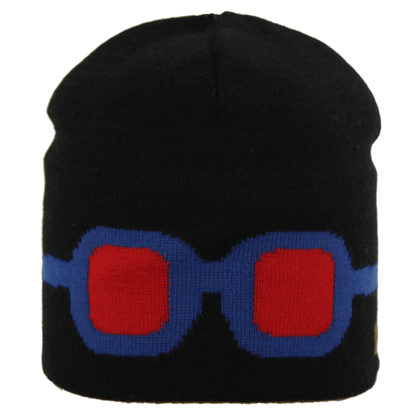 Satila Goggles V21919 Black Beanie Hat - Kizzies, Hats - Childrens Wear