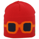 Satila Goggles Red Beanie Hat - Kizzies, Hats - Childrens Wear