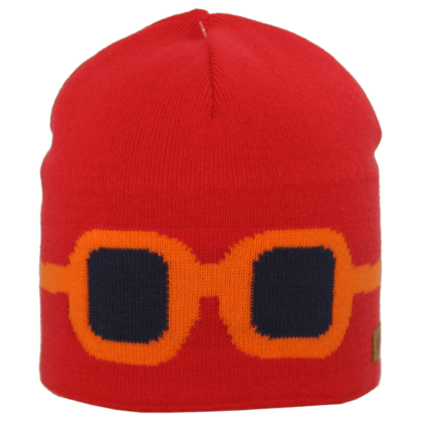 Satila Goggles V21919 Red Beanie Hat - Kizzies, Hats - Childrens Wear