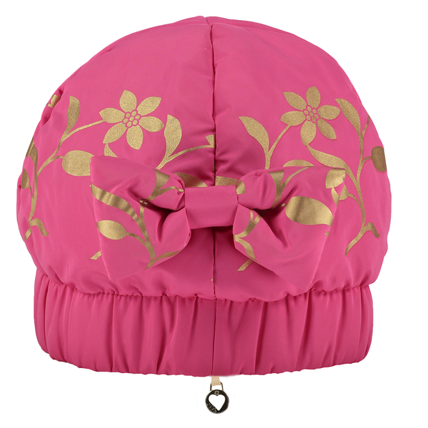Pink Princess Gold Leaf Hat - Kizzies, Hats - Childrens Wear