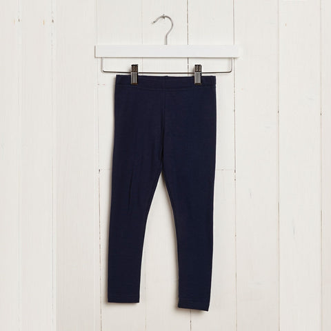 Grass & Air Black Leggings - Kizzies Childrenswear