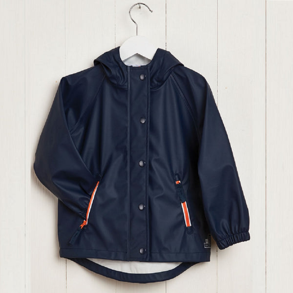 G&A Boys Rainster Jacket Navy