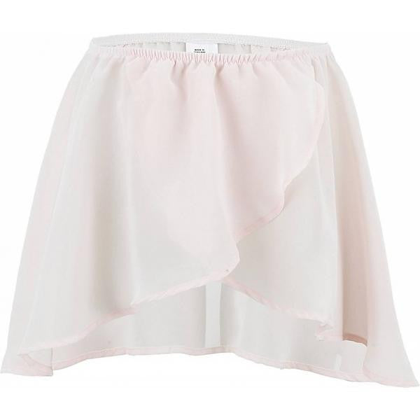Bloch CR5110 Pink Mock Wrap Skirt | Kizzies