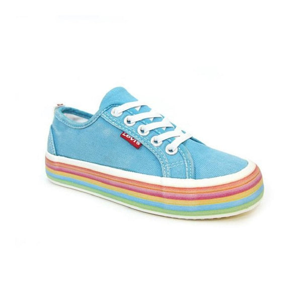 Levi's Pearl Canvas Adult Trainer - Kizzies, Trainers - Childrens Wear