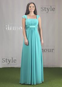 Linzi Jay Bridesmaid Chiffon Dress EN328