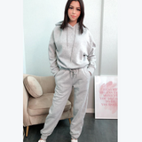 Grey Hooded Co-Ord Set