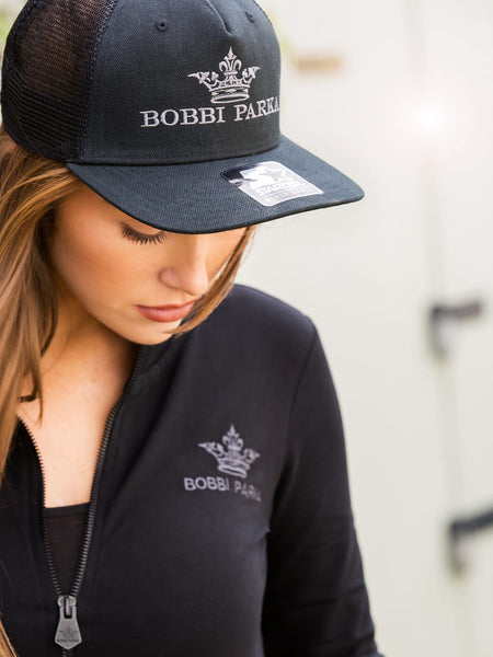 Bobbi Parka x Starter Black Label Snapback Cap / Black