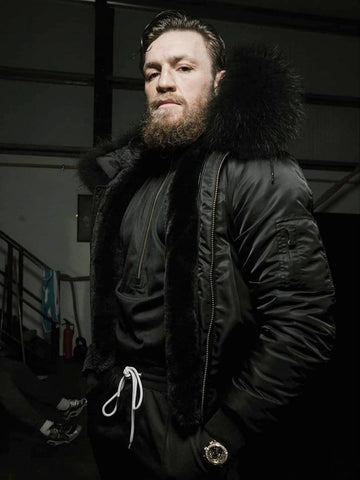 August McGregor x Bobbi Parka Limited Edition Hooded Bomber