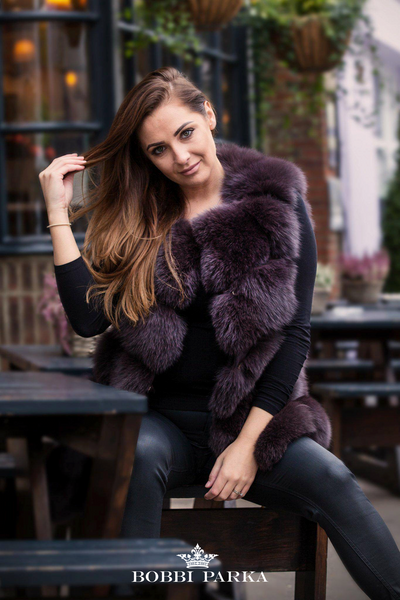 Luxury Gilet - Chocolate Brown