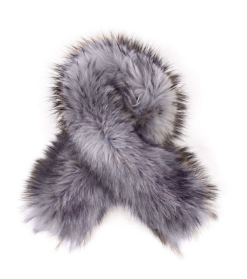 ADDITIONAL RACCOON FUR OVER-SIZED HOOD/COLLAR TRIM -  - 5