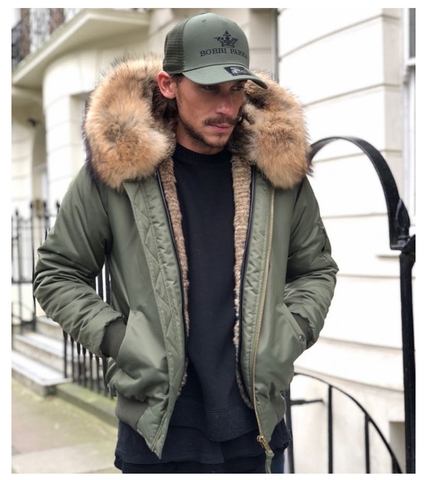 Mens Bobbi Bomber / Green