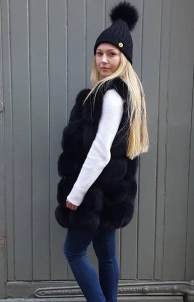 Luxury Gilet - Black