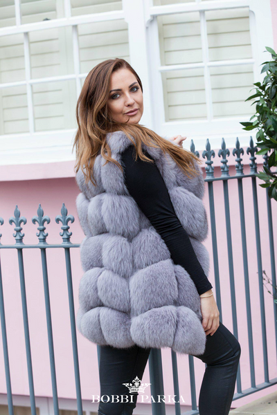 Luxury Gilet - Light Grey