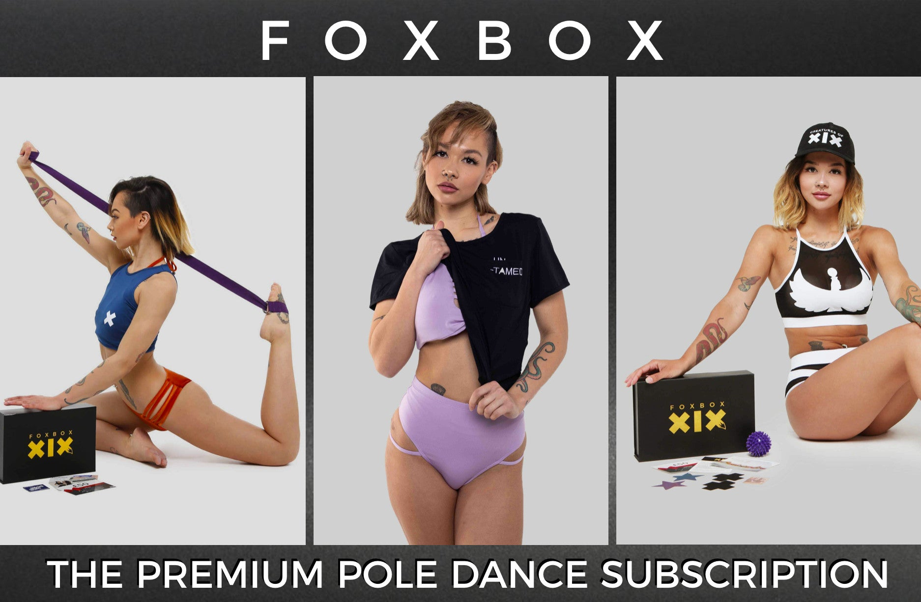 Pole dance subscription box