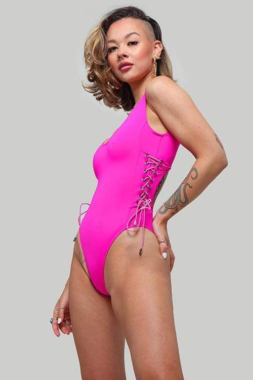 Arizona Bodysuit - Pink bodysuit