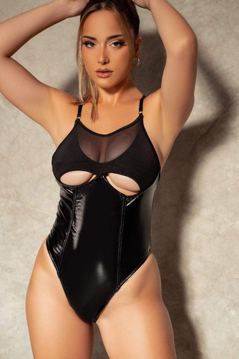 Hattie Bodysuit - Black bodysuit