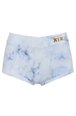 Nyx Frosted Marble High Waisted Bottoms Shorts