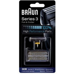 Braun 30B, 4000, 7000 Foil & Cutter Cartridge Cassette Pack For Series 3 Series 1 TriControl