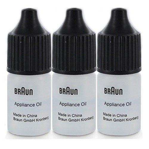 Braun Syncro Shaver Lubricating Appliance Oil 7002000