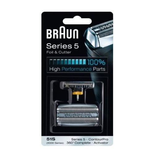 Braun 51 S Series 5 Replacement Foil & Cutter Cartridge Cassette Pack