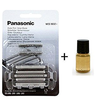 Panasonic WES9012Y Combi Foil and Blade with 1 Panasonic Oil