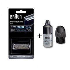 Braun Series Foil & Cutter with Cleaning Brush and Lubricating Oil  51S/70S/31B/31S/32S