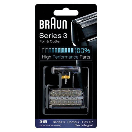 Braun 31B Series 3 Replacement Foil & Cutter Cartridge Cassette Pack