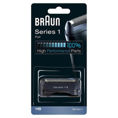 Braun 11B Replacement Foil and Cutter Cassette With Braun Cleaning Brush and Appliance Oil