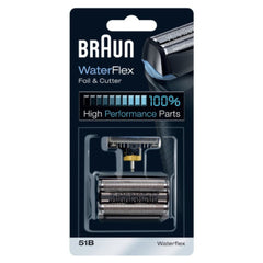 Braun 51B WaterFlex Key Part Foil & Cutter Cartridge Cassette Pack