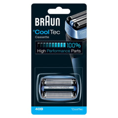 Braun 40B CoolTec Shavers Series Replacement Shaving Foil Head and Cutter Cartridge