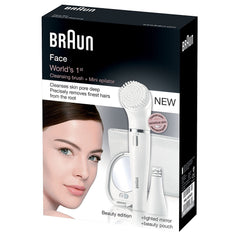 Braun Face 831 incl. pouch and mirror 4210201107408