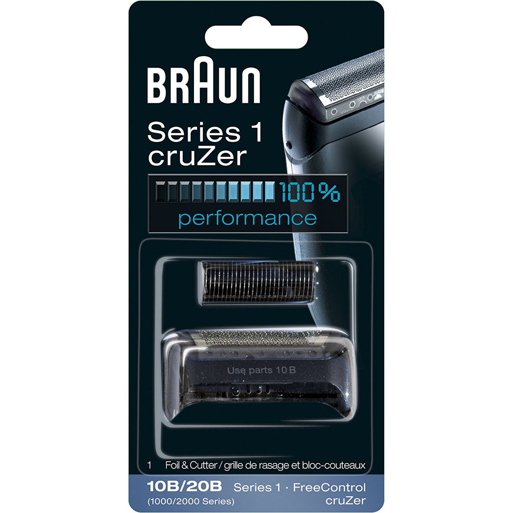 Braun 10B, 20B, SERIES 1,1000 FreeControl Foil & Cutter Pack