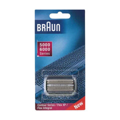 Braun 31B (5000/6000 Series) - Series 3, Contour, Flex XP, Flex Integral foil and cutterblock, Black
