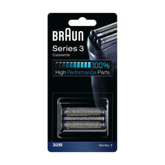 Braun 32B Series 3 Electric Shaver Replacement Foil Cartridge Cassette Replacement Head