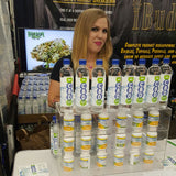 Hempcon 2016 Booth featuring CBD Water and CBD Capsules by Cannabis Sativa, Inc OTC:CBDS
