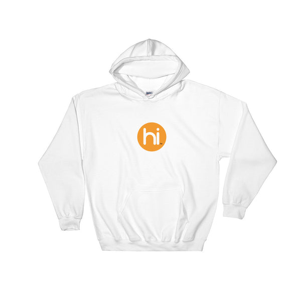 Heavy Hoodie Sweatshirt with hi Logo in Sizes S, M, L