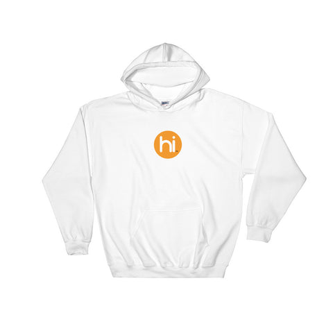 Heavy Hoodie Sweatshirt with hi Logo in Sizes XL to 5XL