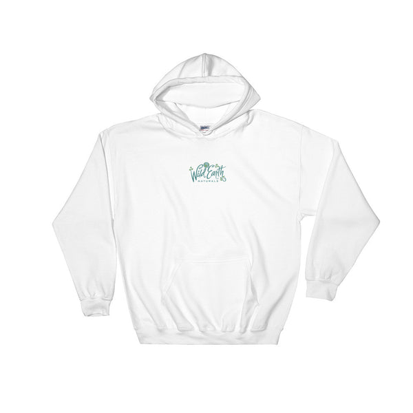 Heavy Hoodie Sweatshirt with Wild Earth Naturals Logo in Sizes XL to 5XL