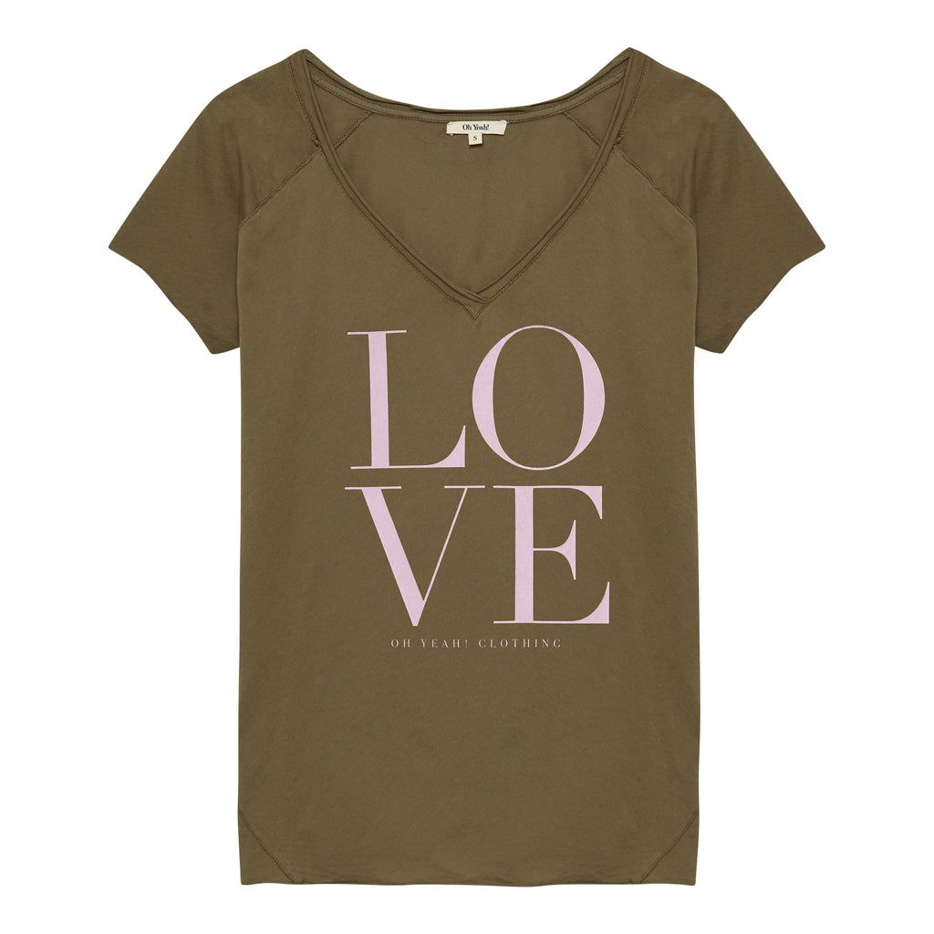 Love Shirt Green - Oh Yeah! GmbH