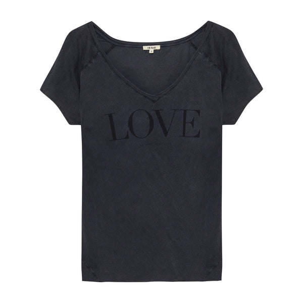 Love Shirt Vintage Black - Oh Yeah! GmbH