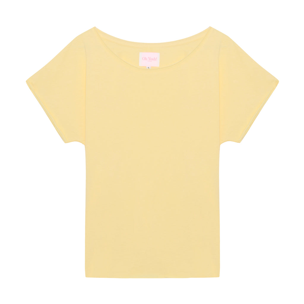 Kiss Me Shirt Yellow - Oh Yeah! GmbH
