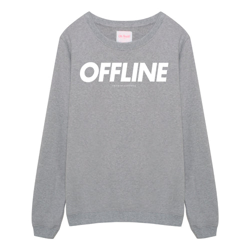 Offline Sweater Grey - Oh Yeah! GmbH