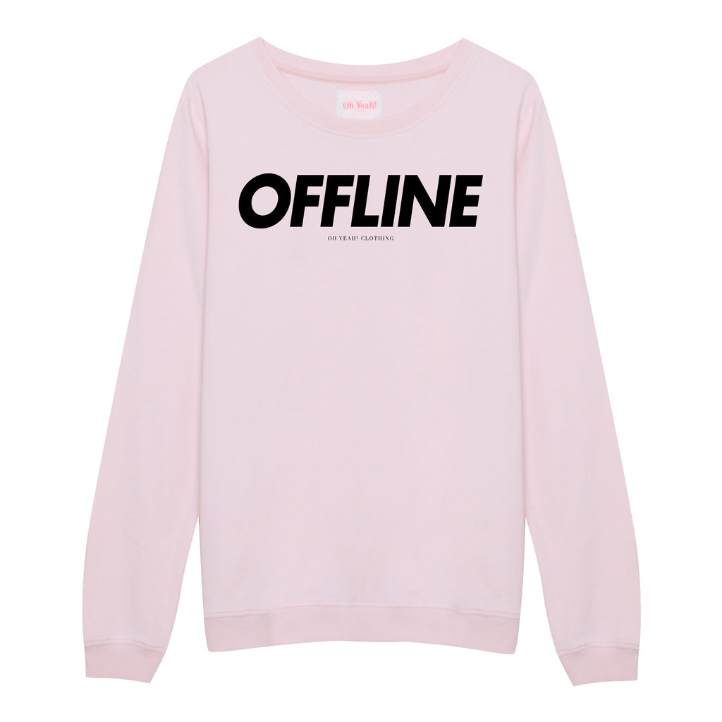 Offline Sweater Pink - Oh Yeah! GmbH